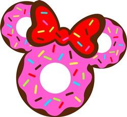 Minnie Donut print art