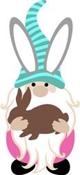 Bunny Gnome print art
