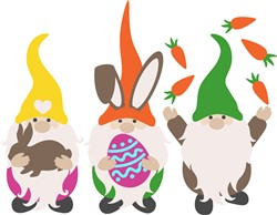 Easter Gnomes print art