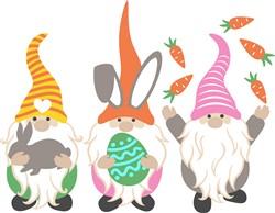 Easter Gnomes print art