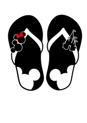 Mickey Mouse Shoes print art