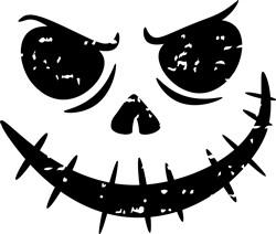 Halloween Face print art