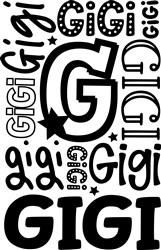 Gigi print art