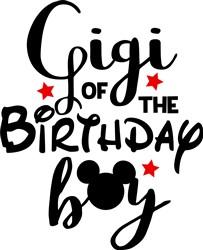 Gigi Of Birthday Boy print art