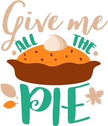 Give Me Pie print art