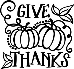 Give Thanks print art