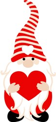 Love Gnome print art