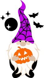 Halloween Gnome print art