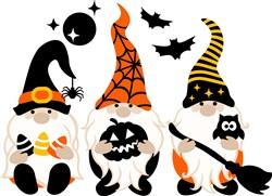 Halloween Gnomies print art