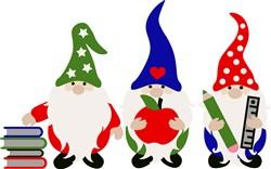 School Gnomes print art
