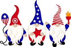 4th Of July Gnomes print art