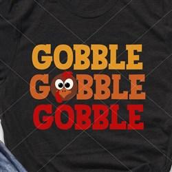 Gobble Turkey print art