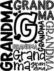 Grandma print art