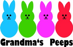 Grandmas Peeps print art