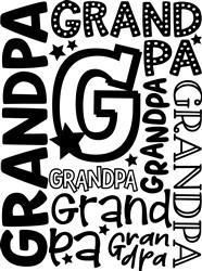 Grandpa print art