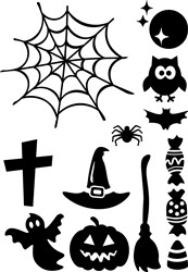 Halloween print art