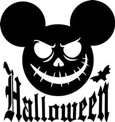 Halloween Mickey print art