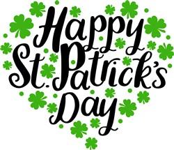 Happy St Patricks Day print art