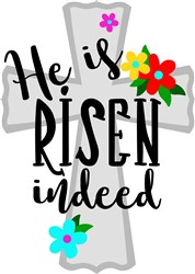 He Is Risen print art