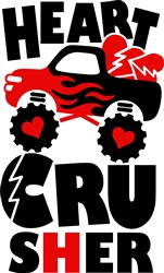 Heart Crusher print art