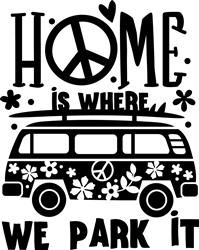Home Where We Park print art