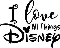Love Disney print art