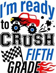 Crush Fifth Grade print art