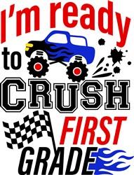 Crush First Grade print art