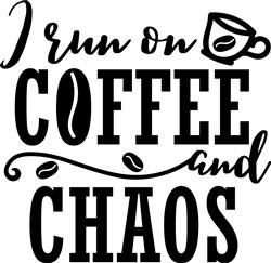 Coffee & Chaos print art