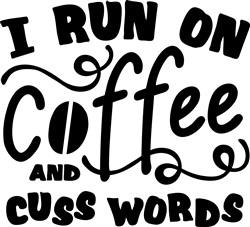 Coffee & Cuss Words print art
