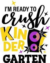 Crush Kindergarten print art