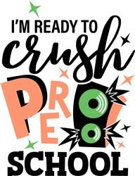 Crush Preschool print art