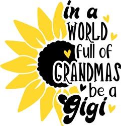 Be A Gigi print art