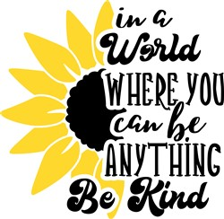 Be Kind print art