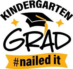 Kindergarten Grad print art