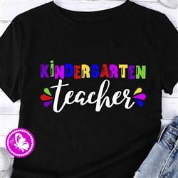 Kindergarten Teacher print art