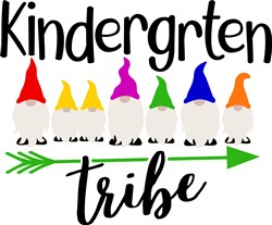 Kindergarten Tribe print art