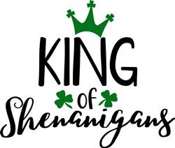 King Of Shenanigans print art