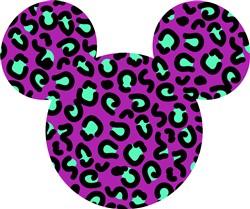 Animal Print Mickey print art
