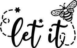 Let It Bee print art