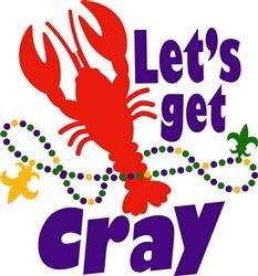 Lets Get Cray print art