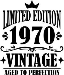 1970 Vintage print art