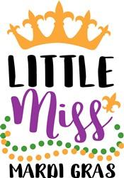 Miss Mardi Gras print art