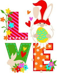 Love Easter print art