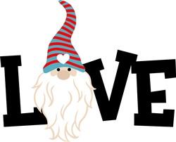 Gnome Love print art