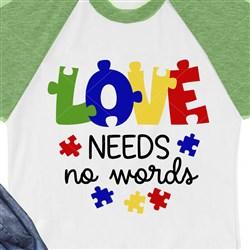 Love Needs No Words print art