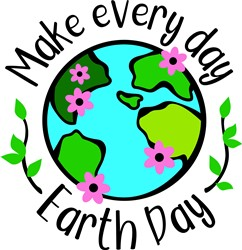 Earth Day print art