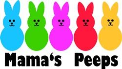 Mamas Peeps print art