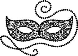 Carnimval Mask print art