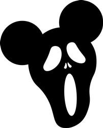 Ghost Mickey print art